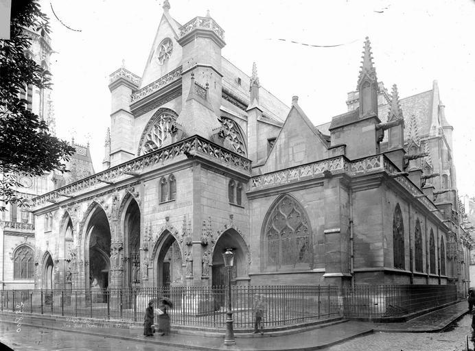 Eglise Saint-Germain-l'Auxerrois Côté sud-ouest, Durand, Eugène (photographe),