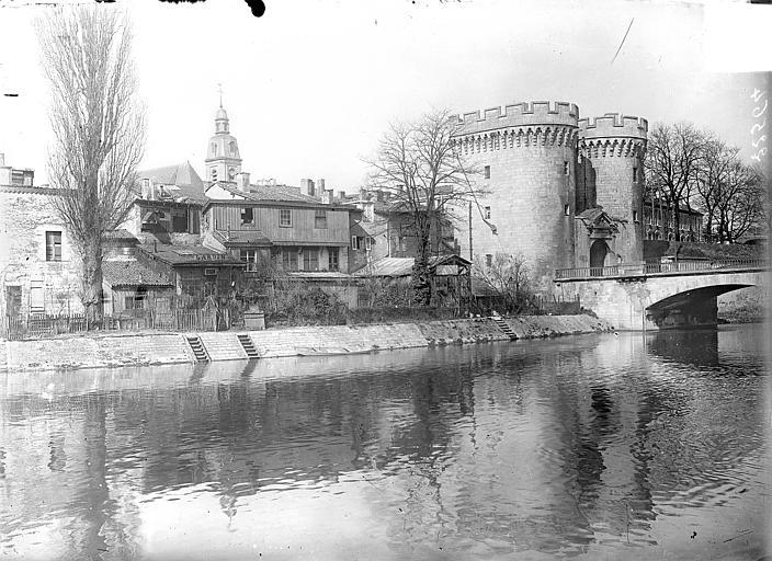 Porte Chaussée Vue générale : La Porte Chaussée sur la Meuse, Vercollier (abbé),