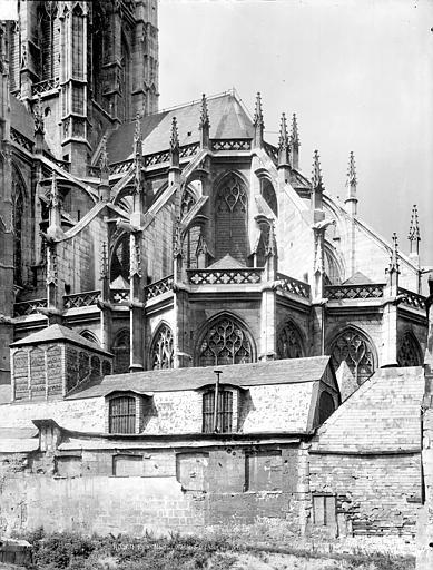 Eglise Saint-Maclou Abside, côté sud, Durand, Jean-Eugène (photographe),