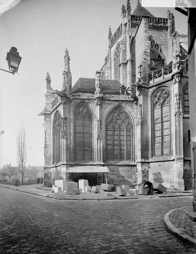 Eglise Saint-Etienne Extérieur, chapelle, Service photographique,