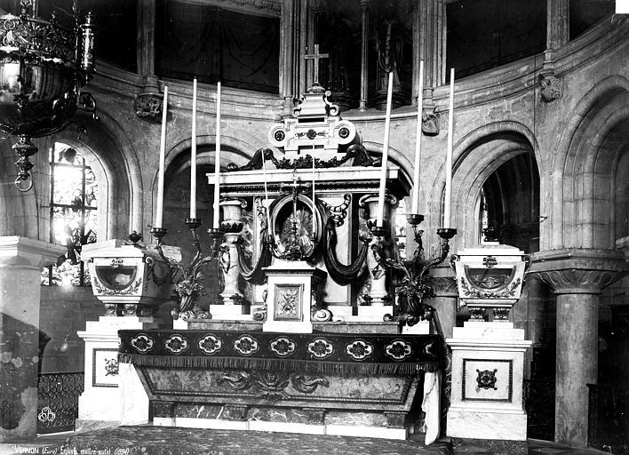 Eglise Maître-autel, Robert, Paul (photographe),