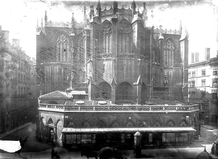 Eglise Saint-Nizier Abside, Durand, Eugène (photographe),