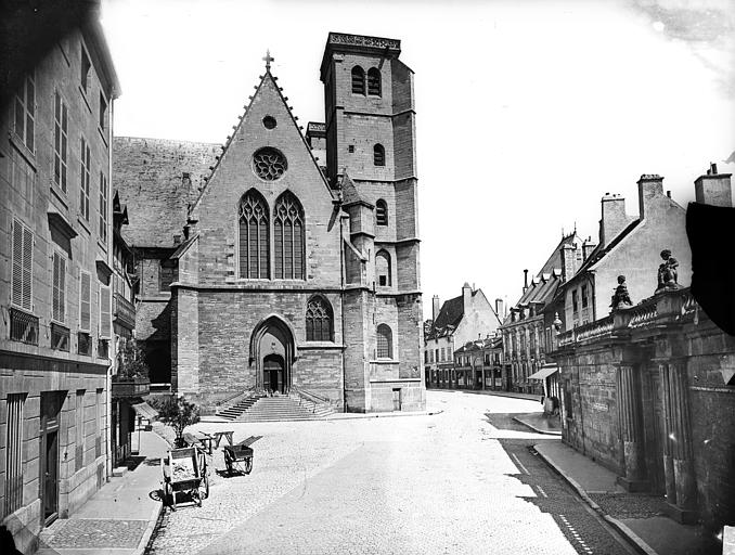 Eglise Saint-Jean Façade nord : Partie ouest, Delaunay (photographe),