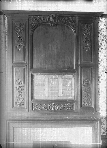 Hôtel des Trois Puits Boiseries, Verneau, G.,