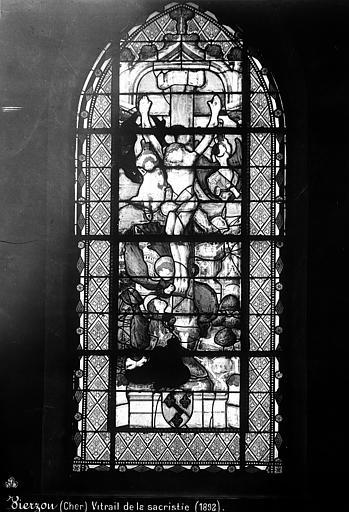 Eglise Vitrail, Mieusement, Médéric (photographe),