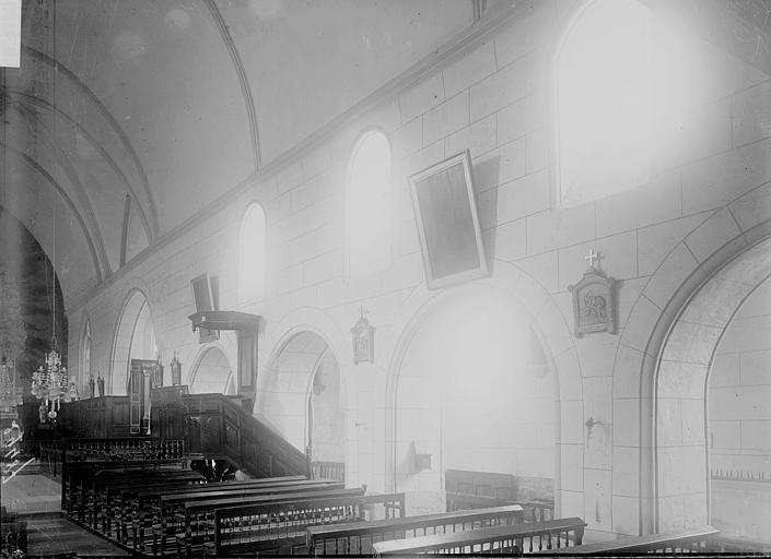 Eglise Nef, Enlart, Camille (historien),