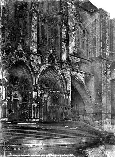 Cathédrale Saint-Etienne Façade ouest : les deux portails sud, Mieusement, Médéric (photographe),