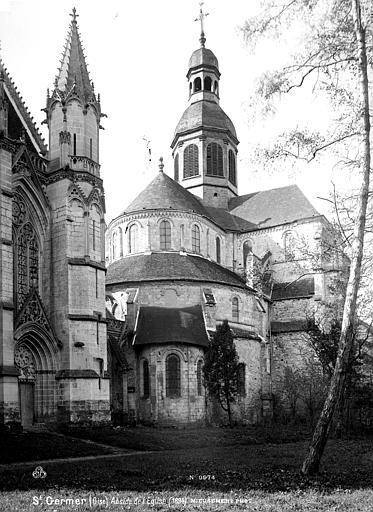 Eglise abbatiale Abside, Mieusement, Médéric (photographe),