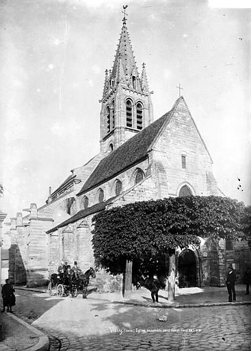 Eglise Saint-Germain Ensemble nord-est, Durand, Eugène (photographe),