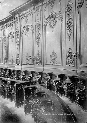 Cathédrale Notre-Dame de l'Assomption Stalles et boiseries du choeur, Mieusement, Médéric (photographe),