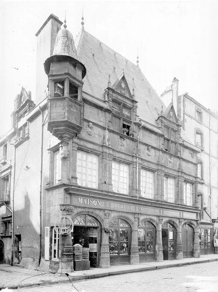 Maison des Consuls Façade nord, Durand, Eugène (photographe),