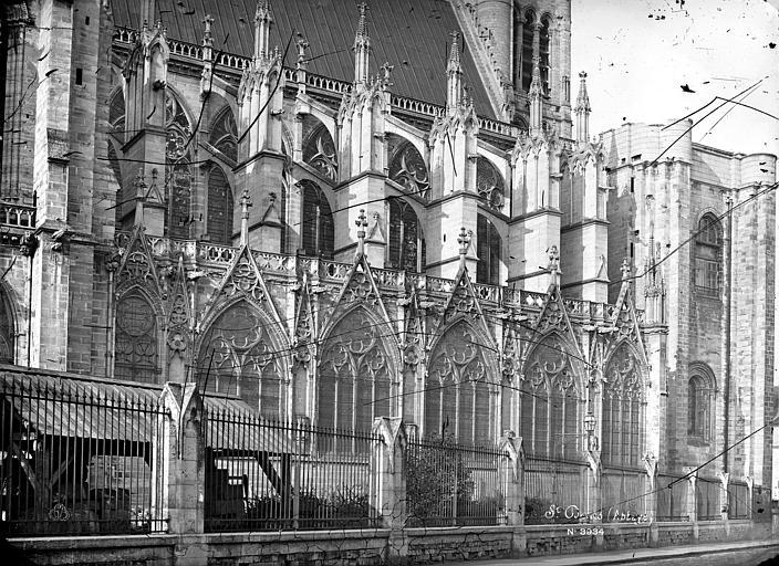 Basilique Saint-Denis Façade nord : Partie ouest, Mieusement, Médéric (photographe),