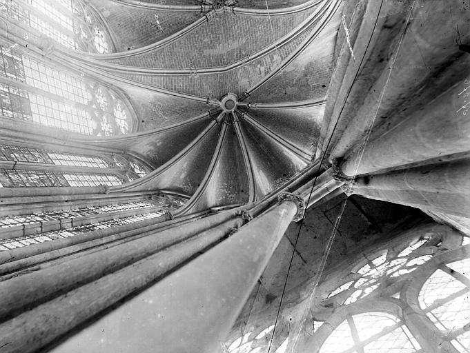 Cathédrale Voûtes, Chaine, Henri (architecte),