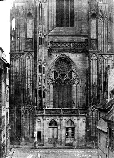 Cathédrale Notre-Dame Clocher : Partie inférieure, côté sud, Le Secq, Henri (photographe),