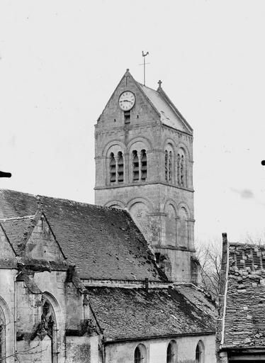 Eglise Clocher, côté nord-est, Service photographique,