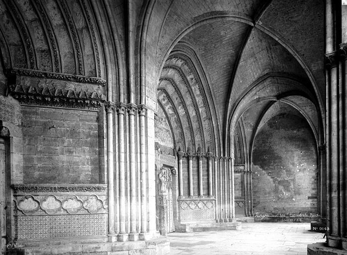 Cathédrale (ancienne) Porche, Durand, Eugène (photographe),