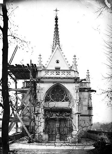 Château Chapelle Saint-Hubert : façade d'entrée, Mieusement, Médéric (photographe),
