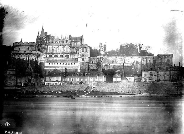 Château Ensemble nord, sur la Loire, Mieusement, Médéric (photographe),