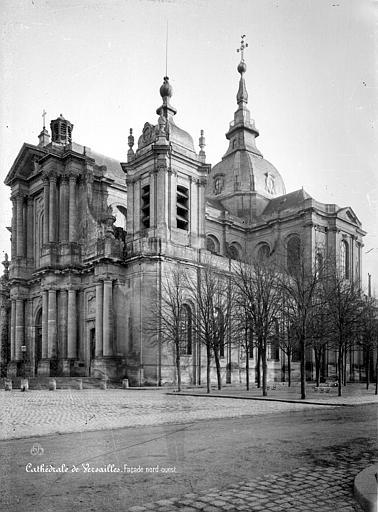 Cathédrale Saint-Louis Ensemble nord-ouest, Mieusement, Médéric (photographe),