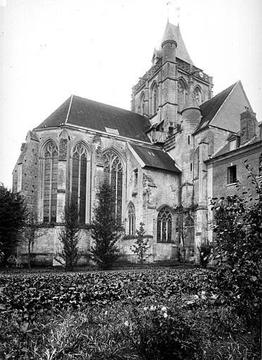 Eglise Saint-Taurin Abside, Durand, Eugène (photographe),