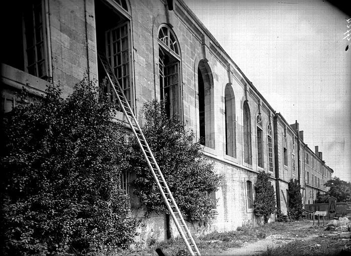 Evêché  (ancien) Façade de la salle de réception, Service photographique,