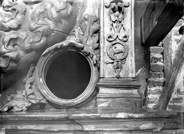 Gros Horloge Détail de l'ornementation, Durand, Jean-Eugène (photographe),
