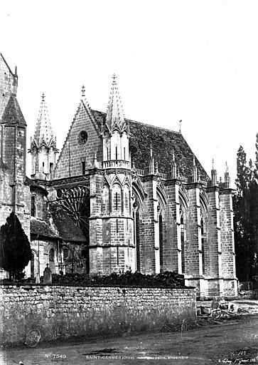 Chapelle de la Vierge dite Sainte-Chapelle Ensemble sud-ouest, Le Secq, Henri (photographe),