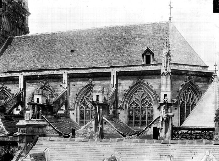 Eglise Saint-Jean Choeur, face sud, Durand, Eugène (photographe),