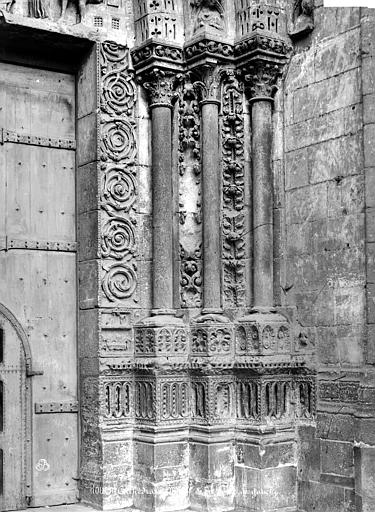 Cathédrale Notre-Dame Portail sud de la façade ouest : ébrasement droit, Mieusement, Médéric (photographe),