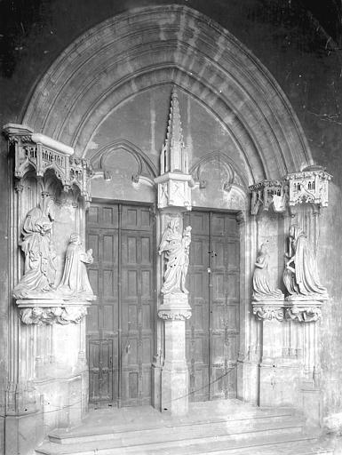Chartreuse de Champmol (ancienne) Portail de l'ancienne église, Durand, Jean-Eugène (photographe),