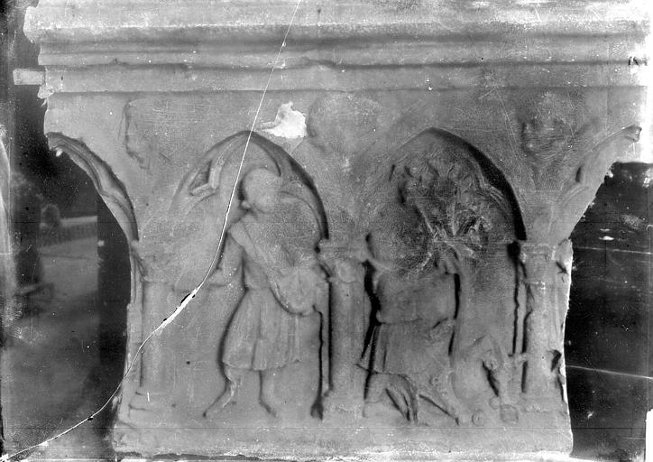 Palais des Comtes de Poitiers (ancien) ; Palais de Justice , Enlart, Camille (historien), 75 ; Paris 16 ; Palais de Chaillot (Trocadéro) ; Musée de Sculpture comparée, musée des Monuments français