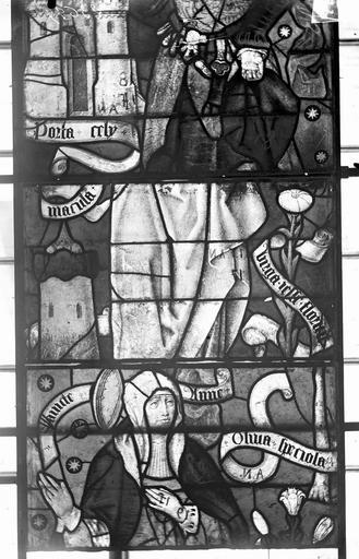Eglise Vitraux, panneaux 7, 17, 30 de la baie F, Nadeau, H. (photographe),