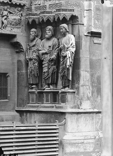 Cathédrale Notre-Dame Portail nord, ébrasement droit, Lajoie, Abel,