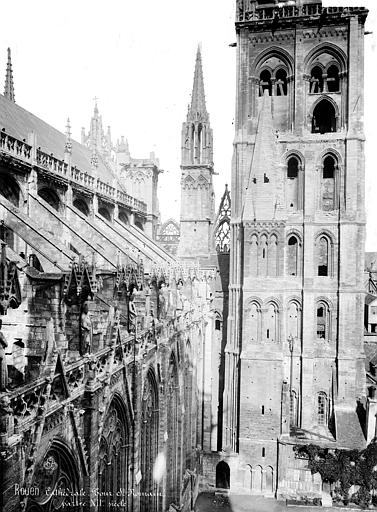 Cathédrale Notre-Dame Tour Saint-Romain, côté est, Mieusement, Médéric (photographe),