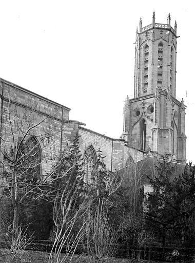 Cathédrale Saint-Sauveur Façade nord et clocher, Mieusement, Médéric (photographe),