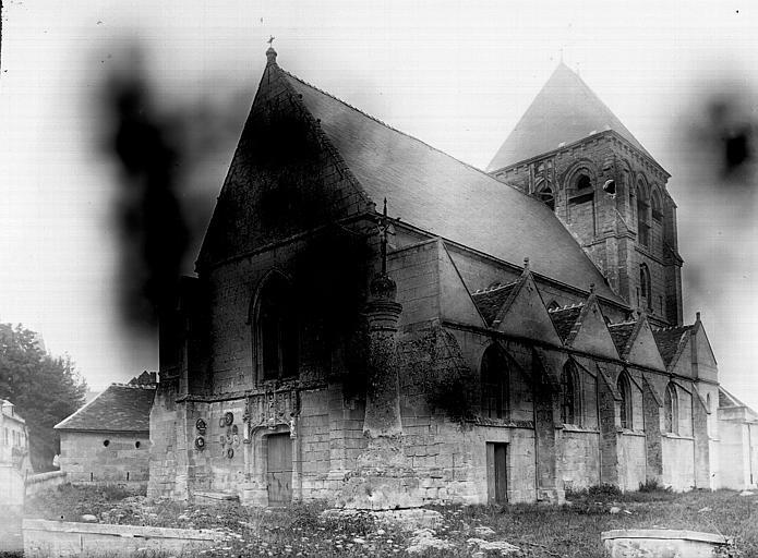 Eglise Ensemble sud-ouest, Enlart, Camille (historien),