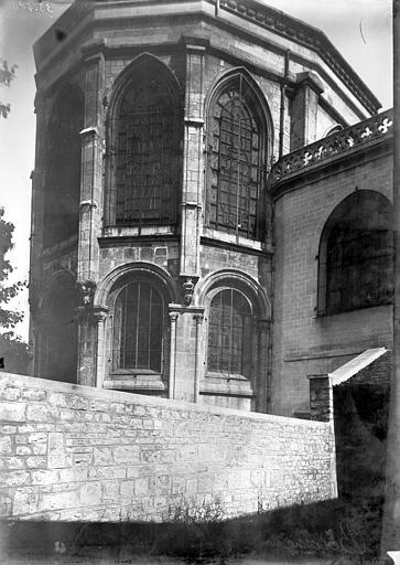 Cathédrale Saint-Jean et Saint-Etienne Abside, Enlart, Camille (historien),