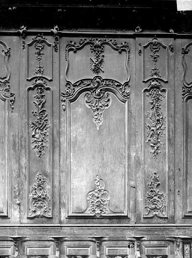 Cathédrale Notre-Dame-de-l'Assomption Stalles, neuvième panneau, Heuzé, Henri (photographe),