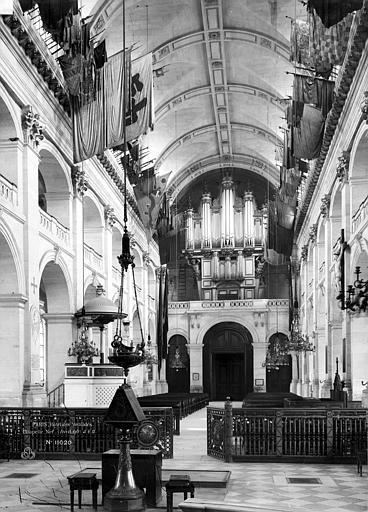 Hôtel des Invalides Chapelle, intérieur, Durand, Eugène (photographe),
