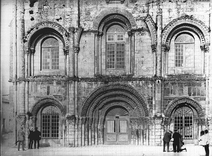 Eglise Sainte-Marie-aux-Dames (ancienne) Façade ouest, Heuzé, Henri (photographe),