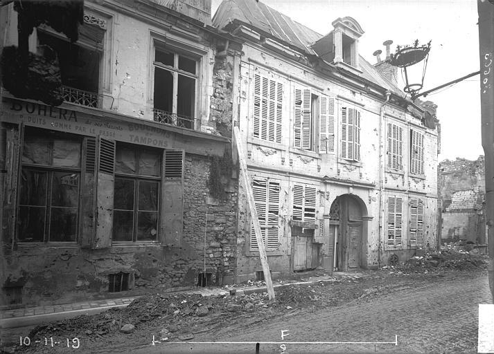 Maison Façades, Verneau, G.,