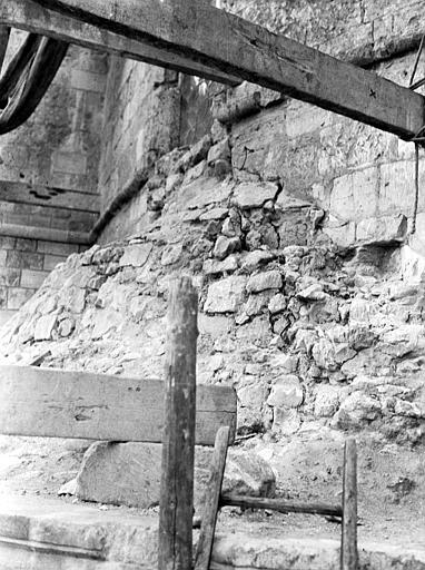 Eglise abbatiale Echafaudage : détail, Chaine, Henri (architecte),