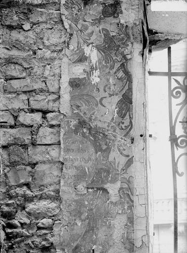 Hôtel de Ville Peinture murale, Verneau, G.,