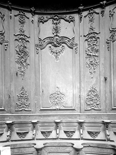 Cathédrale Notre-Dame-de-l'Assomption Stalles, sixième panneau, sud, Heuzé, Henri (photographe),