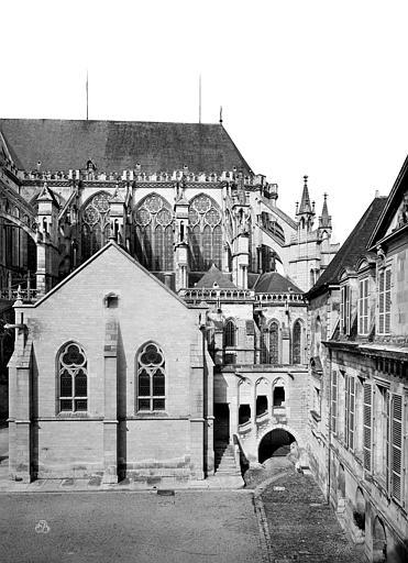 Cathédrale Saint-Pierre Façade sud : Partie est, Mieusement, Médéric (photographe),