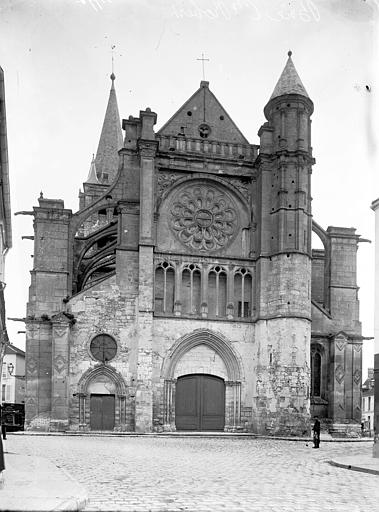 Eglise Façade ouest, Enlart, Camille (historien),