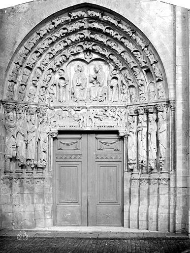 Cathédrale Portail ouest, Durand, Eugène (photographe),