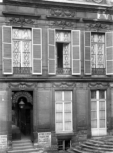 Hôtel d'Aumont Extérieur, Durand, Eugène (photographe),