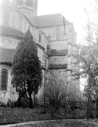 Eglise abbatiale Abside, Chaine, Henri (architecte),