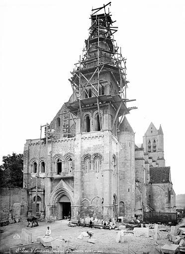 Abbaye Saint-Nicolas (ancienne) Eglise : Ensemble ouest, Mieusement, Médéric (photographe),
